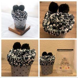3 for $20 NWT Cozy Black Cupcake Socks